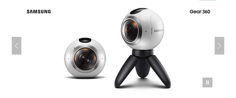 Samsung lanceert 360° camera: Gear 360