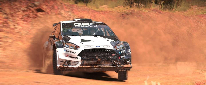 Rally-clinic met een Mitsubishi Lancer leert je Dirt 4 waarderen