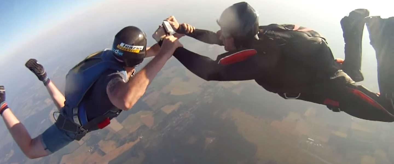 GoPro overleeft val van 3.000 meter