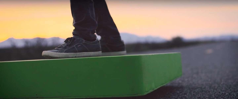 AcraBoard: het hoverboard dat écht kan vliegen!