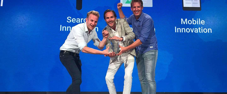 Adwise wint Google Global Award in New York en zet Nederland digitaal op de kaart