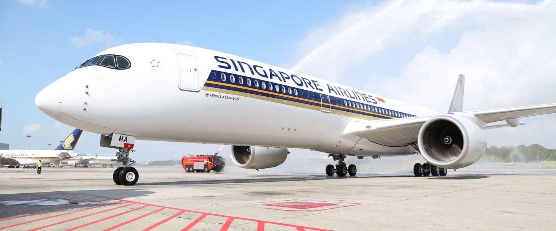 360° in de Singapore Airlines Airbus A350