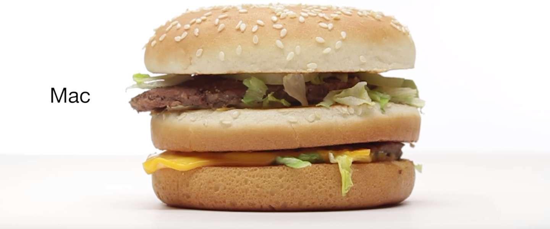 Als McDonald's zou adverteren zoals Apple, zou het er zo uitzien