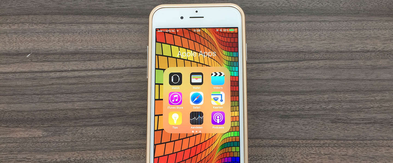 Eindelijk de standaard apps van Apple verbergen