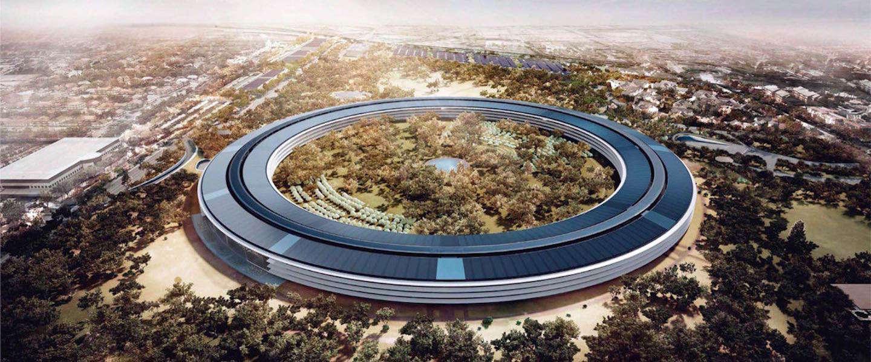 Apple bouwt nieuw auditorium voor 161 miljoen