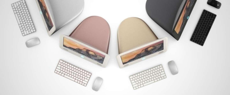 Zo zou de originele eMac eruit zien als hij vandaag was gemaakt