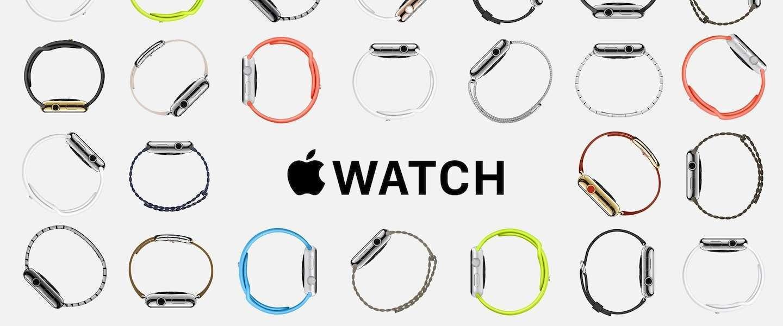 Pre-orders van de Apple Watch zijn gestart