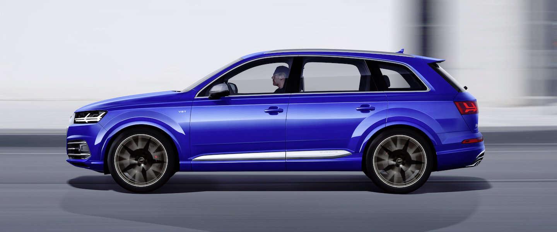 Audi SQ7 TDI: bruut geweld, 4.0-liter diesel-V8 met twee turbo's