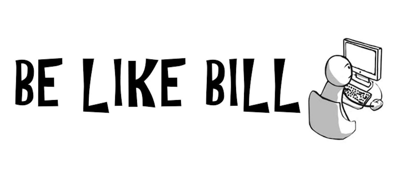 Be Like Bill: jezelf gedragen op social media