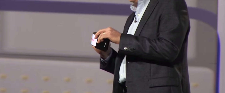Next 'big thing'? Smartphone met buigbaar scherm van Samsung