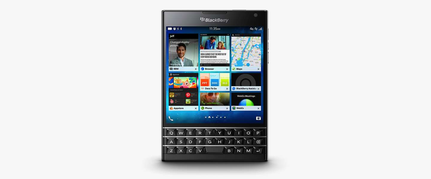 BlackBerry releast Passport