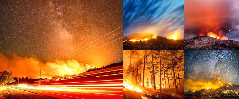 De 10 mooiste foto's van vuur