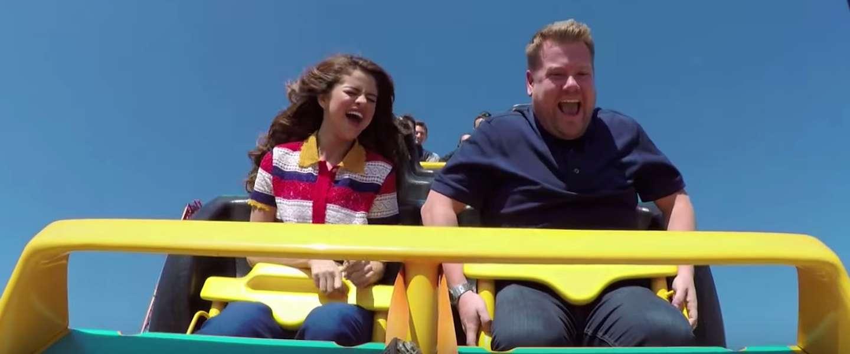 Nieuwe Carpool Karaoke met Selena Gomez