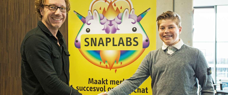 De jongste CEO van Nederland voor Social Embassy