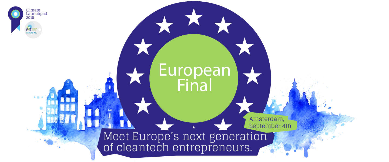 De grootste cleantech start-up competitie van Europa: ClimateLaunchpad