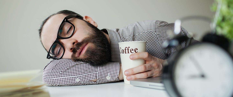 Koffie + Powernap = Energieboost!