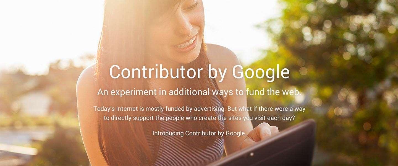 Google Contributor: het begin van een reclamevrij internet?