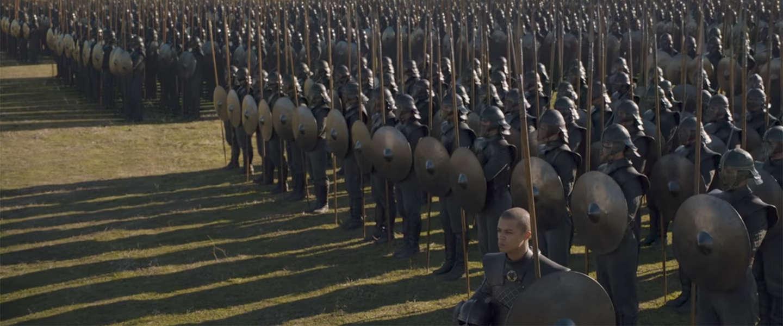 Foto's van The Dragon and The Wolf, seizoensfinale van Game of Thrones