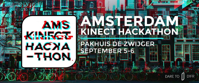 Kinect Hackathon: Serieus spelen met de Kinect v2 sensor in Amsterdam