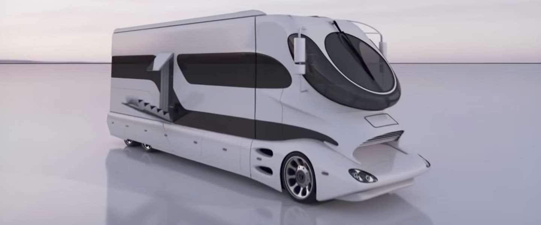 Dit is geen camper, maar een rijdend paleis van 2,5 miljoen euro