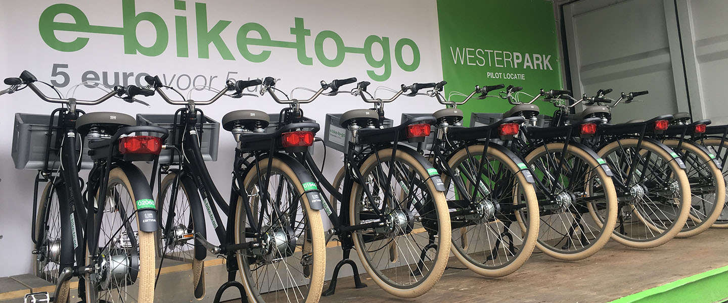 Eerste 'e-bike to go' punt geopend in Amsterdam