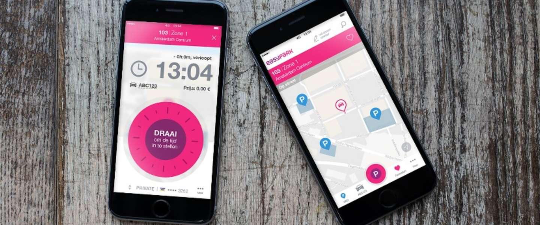 Europa's grootste mobiele parkeerapp Easypark ook naar Nederland