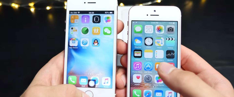 Het verschil tussen een echte en een neppe iPhone SE