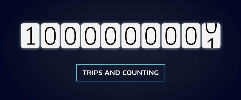 Al meer dan 1 miljard Uber-ritjes