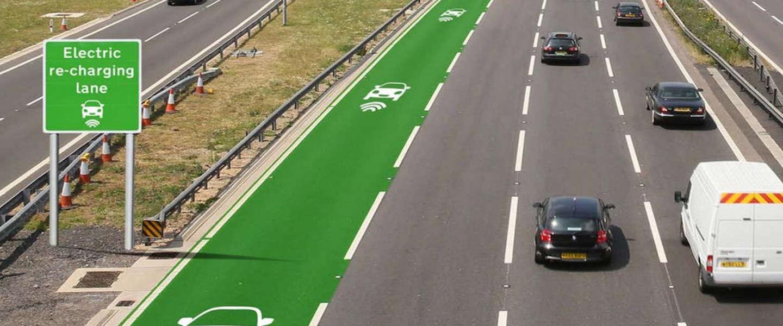 Deze wegen laden je auto op terwijl je rijdt