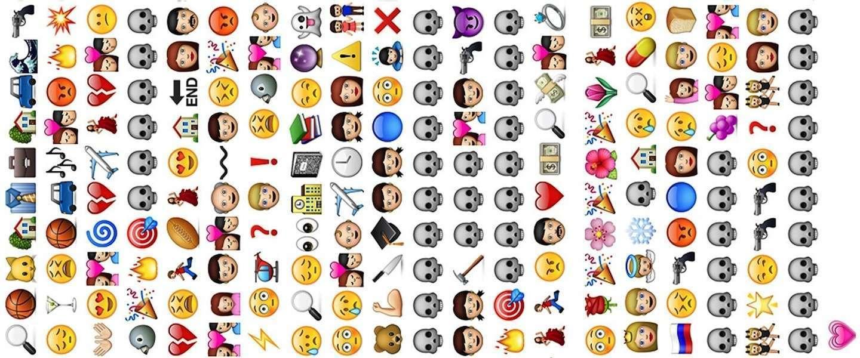 Een Woordenboek Vol Emoticons