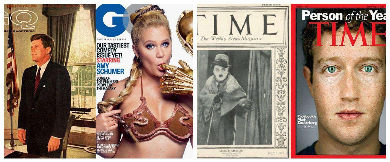 Zo zijn tijdschriften de afgelopen 100 jaar veranderd