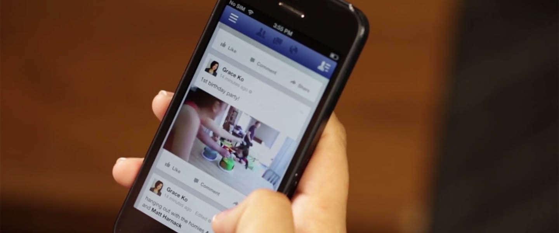 Op Facebook worden er 1 miljard video's per dag bekeken