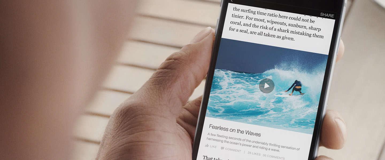 Instant Articles van Facebook beschikbaar in Messenger