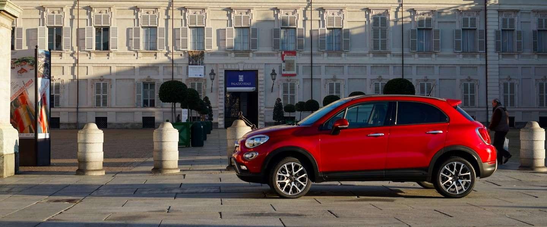 De Fiat 500X compacte Cross-over en nieuw Italiaans lifestyle icoon