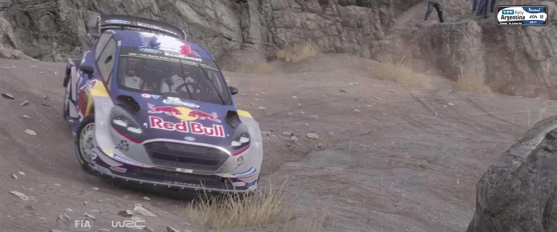 Sébastien Ogier en zijn nieuwe 2017 Fiesta WRC