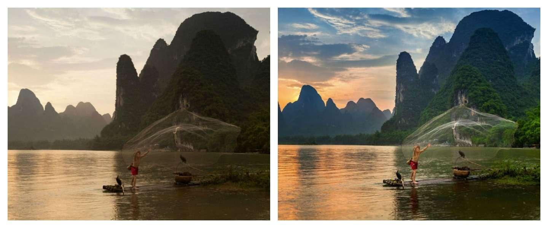 Voor- en na foto's tonen de kracht van Photoshop
