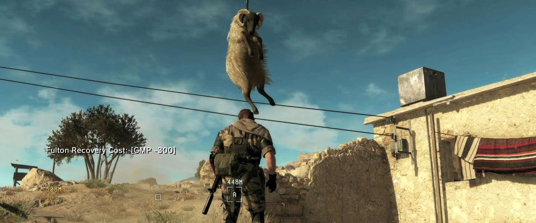 Gamescom 2015: Metal Gear Solid 5 speelt heerlijk