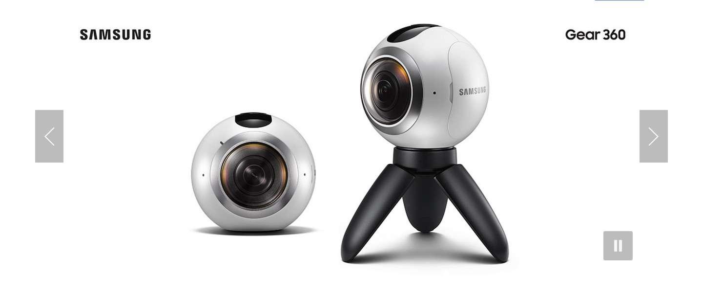 Samsung lanceert 360° camera: Gear 360