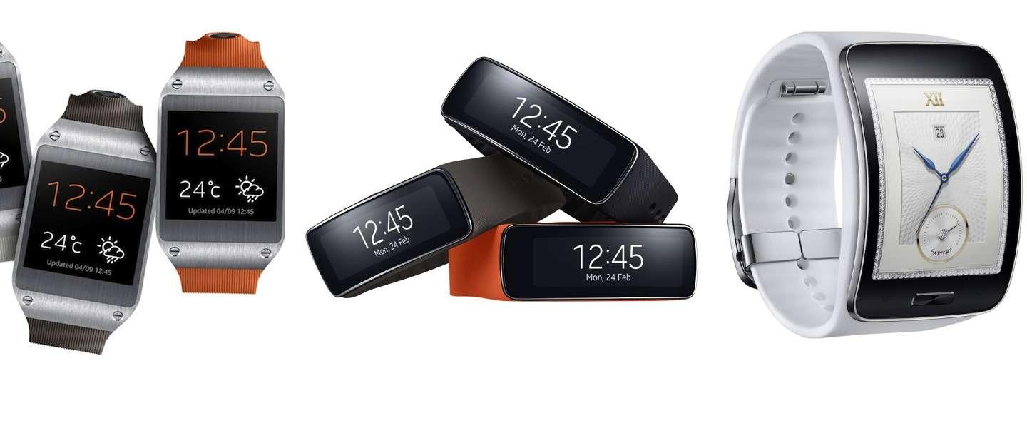 Ronde Samsung smartwatch wordt een 'duikklok' model