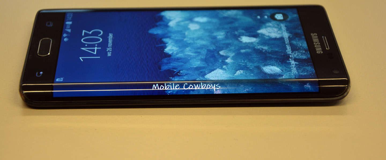 Een half uurtje met de Galaxy Note Edge