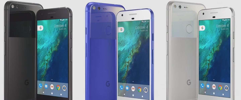 Google Pixel en Pixel XL onthuld