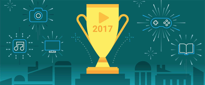 Het beste van Google Play in 2017