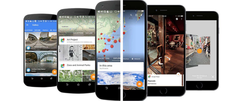 Google Street View app voor iOS & Android