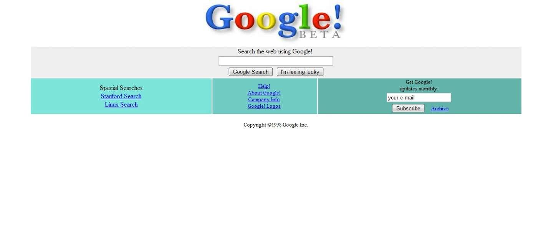 Infographic: zo zagen deze populaire websites er vroeger uit