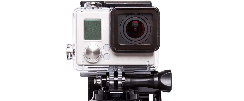 Een GoPro in een vaatwasser