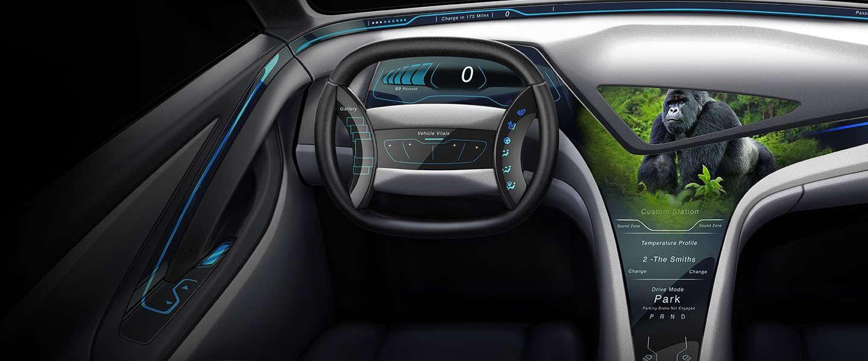 CES 2017: Corning maakt meer mogelijk met Gorilla Glass voor auto's