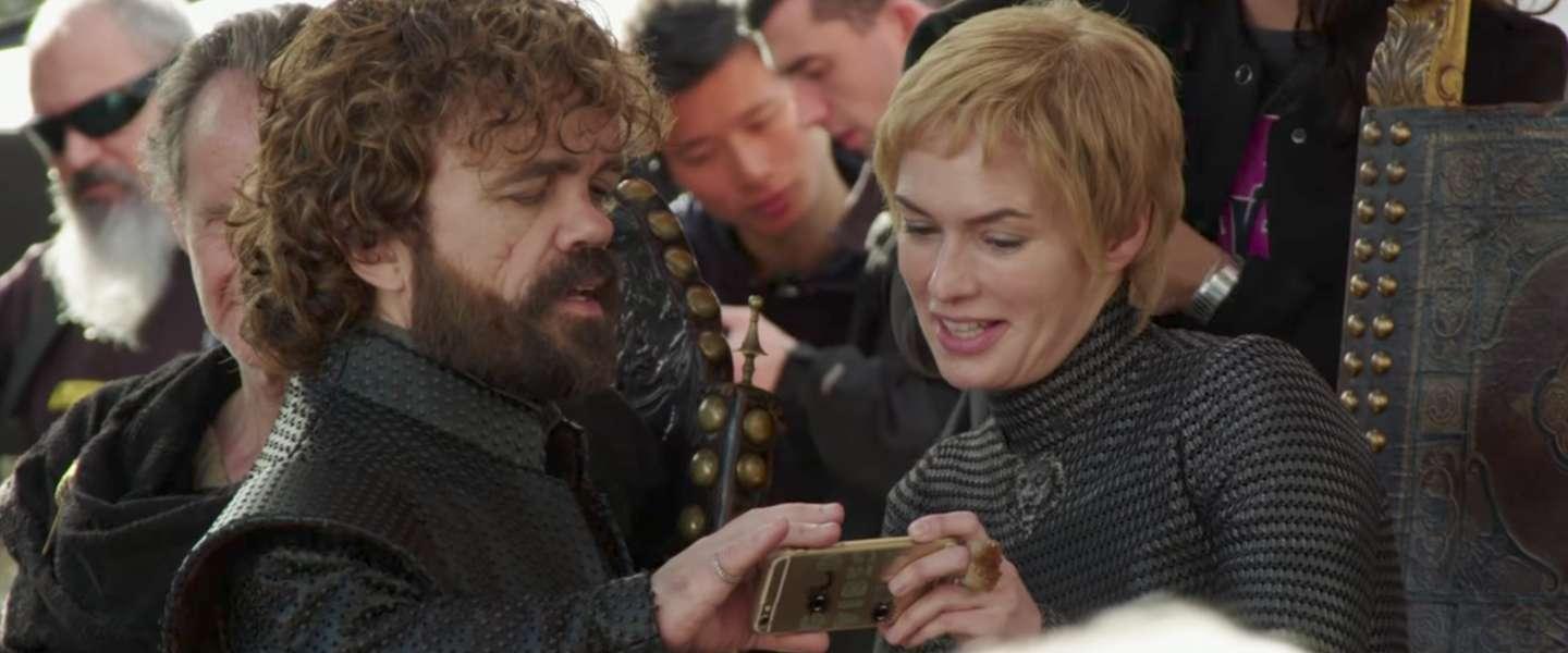 Leuk: Making of-video van de laatste Game of Thrones aflevering