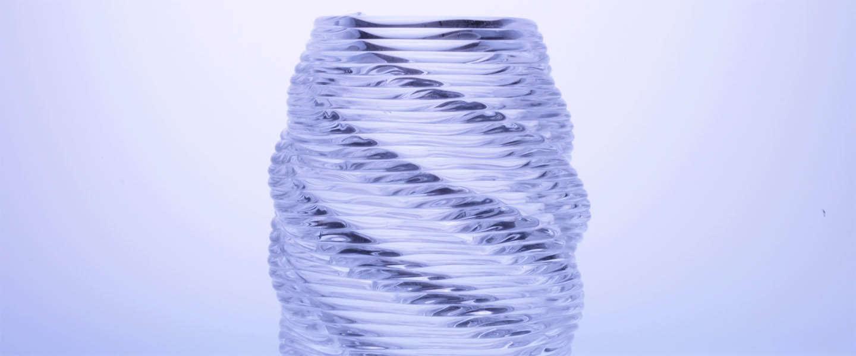 3D Printen van glas nu mogelijk dankzij MIT