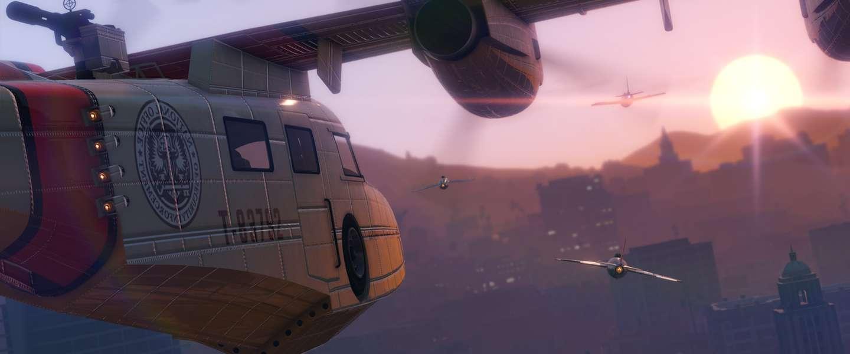 GTA Online update Smuggler's Run gaat vandaag live