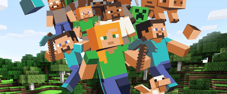 Gaat Minecraft naar Microsoft?